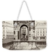 Paris Fountain, C1858 Weekender Tote Bag