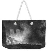 Paris, France Fire, 1773 Weekender Tote Bag