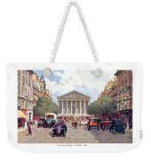 Paris France - The Rue Royal And The Madeleine - 1910 Weekender Tote Bag