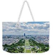 Paris From Above Weekender Tote Bag
