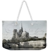 Paris History Weekender Tote Bag