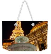 Paris Hotel And Casino In Las Vegas Weekender Tote Bag