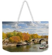 Paris In Autumn Weekender Tote Bag