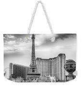 Paris Las Vegas Weekender Tote Bag by Howard Salmon