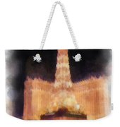 Paris Las Vegas Photo Art Weekender Tote Bag