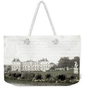 Paris Lore Weekender Tote Bag