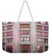Paris Louis Vuitton Boutique Fashion Shop On The Champs Elysees Weekender Tote Bag