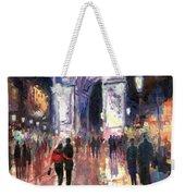 Paris Miting Point Arc De Triomphie Weekender Tote Bag