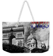 Paris Montage 2 Weekender Tote Bag