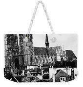 Paris Notre Dame, 1862 Weekender Tote Bag