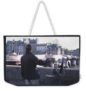 Paris Painter Inspiration Magritte Weekender Tote Bag