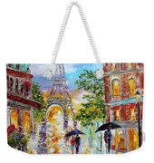 Paris Romance Weekender Tote Bag