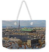 Paris Rooftops Weekender Tote Bag