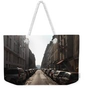 Paris Side Street Weekender Tote Bag
