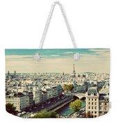 Paris Skyline France. Eiffel Tower Weekender Tote Bag