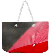 Paris Spring Rains Weekender Tote Bag