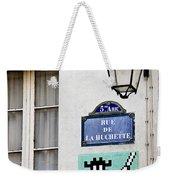 Paris Street Art - Space Invader Weekender Tote Bag