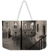 Paris Street Weekender Tote Bag