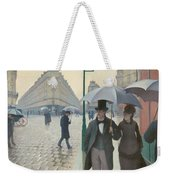 Paris Street In Rainy Weather Weekender Tote Bag