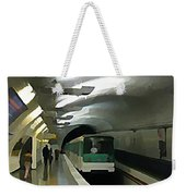 Paris Subway  Weekender Tote Bag