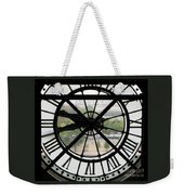 Paris Time Weekender Tote Bag