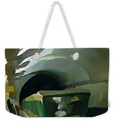 Paris Train In Fisheye Perspective Weekender Tote Bag