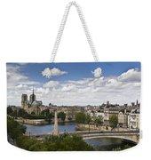 Paris View Notre Dame Weekender Tote Bag