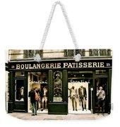 Paris Waiting Weekender Tote Bag