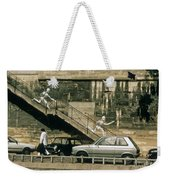 Paris Wall Weekender Tote Bag