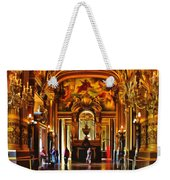 Parisian Opera House Weekender Tote Bag