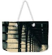 Parisian Rail Arches Weekender Tote Bag