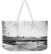 Park & Shop Early Strip Mall Weekender Tote Bag