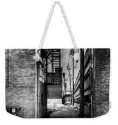Park Alley Sunset Weekender Tote Bag by Bob Orsillo