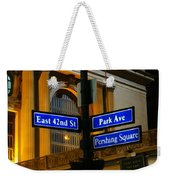 Park Avenue Weekender Tote Bag