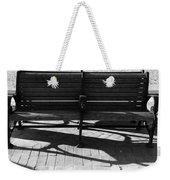 Park Bench Weekender Tote Bag