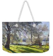 Park By Niagara Falls River Weekender Tote Bag