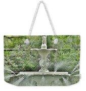 Forsyth Park Fountain - Savannah Georgia Weekender Tote Bag