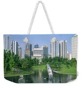 Park In The City, Petronas Twin Towers Weekender Tote Bag