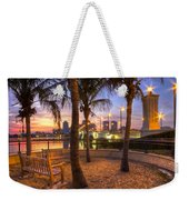 Park On The West Palm Beach Wateway Weekender Tote Bag