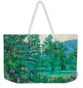 Park Road In Radford Weekender Tote Bag
