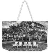 Park Under The Oaks Weekender Tote Bag by Debra and Dave Vanderlaan