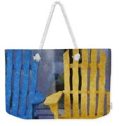 Parking Spot Weekender Tote Bag by Jeff Kolker