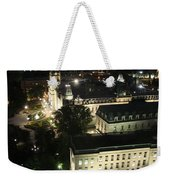 Parlament Quebec At Night  Weekender Tote Bag