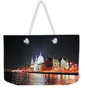 Parliament And The Danube Weekender Tote Bag