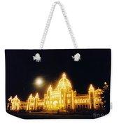 Parliment Building Victoria Weekender Tote Bag