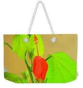 Parlor Maple Flower Weekender Tote Bag