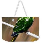 Parrot Beauty Digital Artwork Weekender Tote Bag