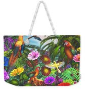 Parrot Jungle Weekender Tote Bag