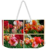 Parrot Tulips In Springtime Philadelphia Weekender Tote Bag