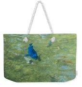 Parrotfish On A Swim Weekender Tote Bag by John M Bailey